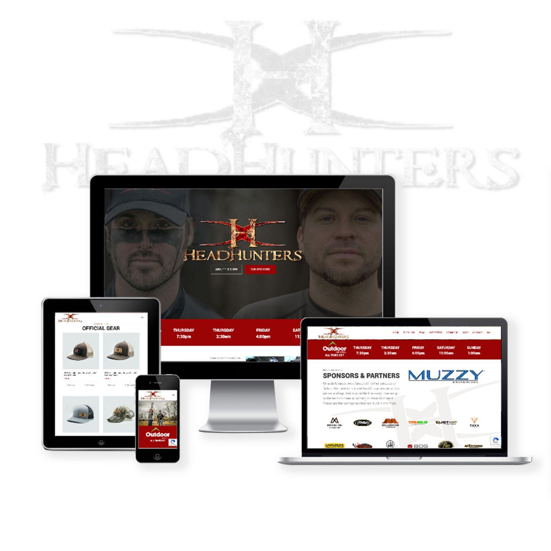 Hunting Tv Show Website Design