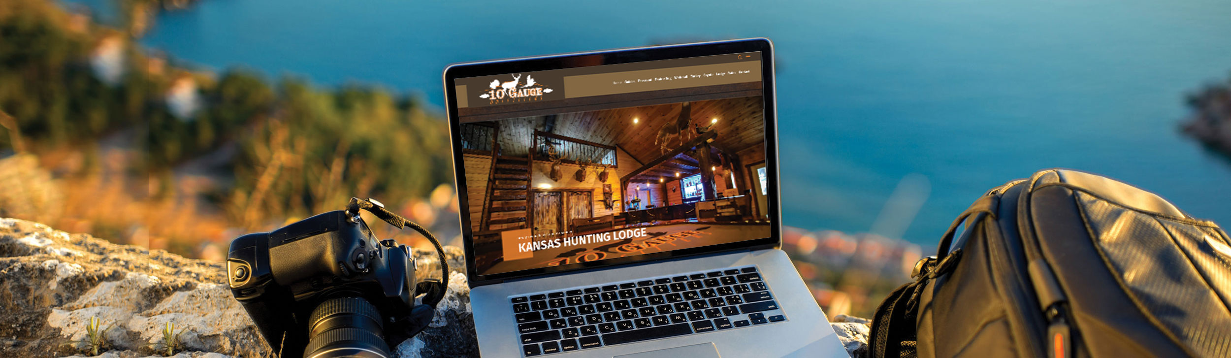 Custom Outfitter Website Design